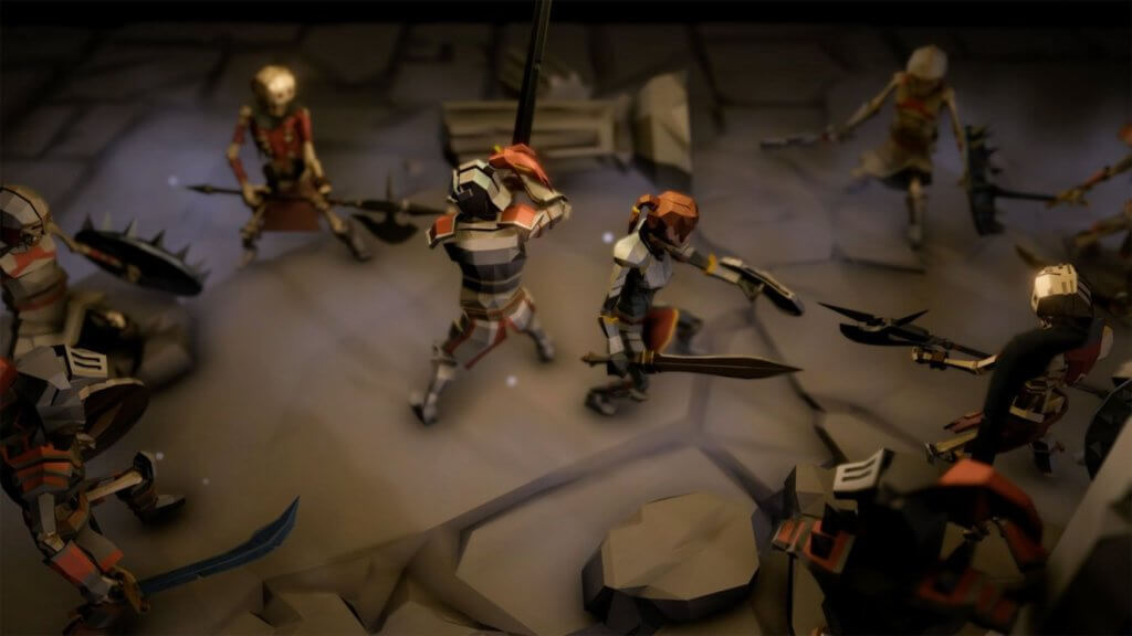 Crumbling World - A Dark Fantasy Lowpoly Action RPG 2