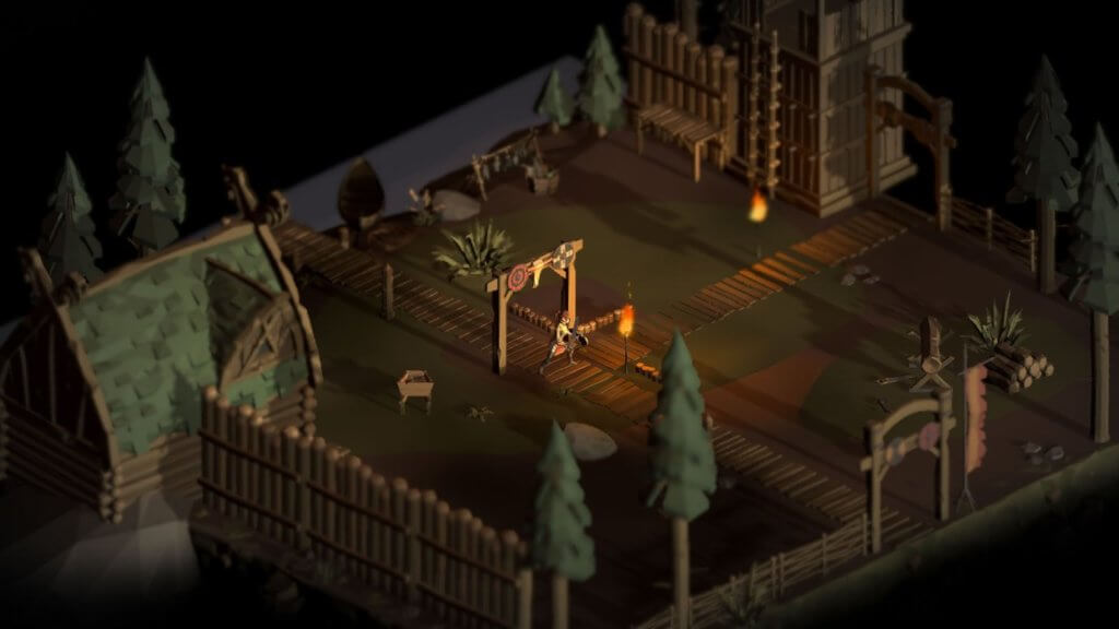 Crumbling World - A Dark Fantasy Lowpoly Action RPG 4