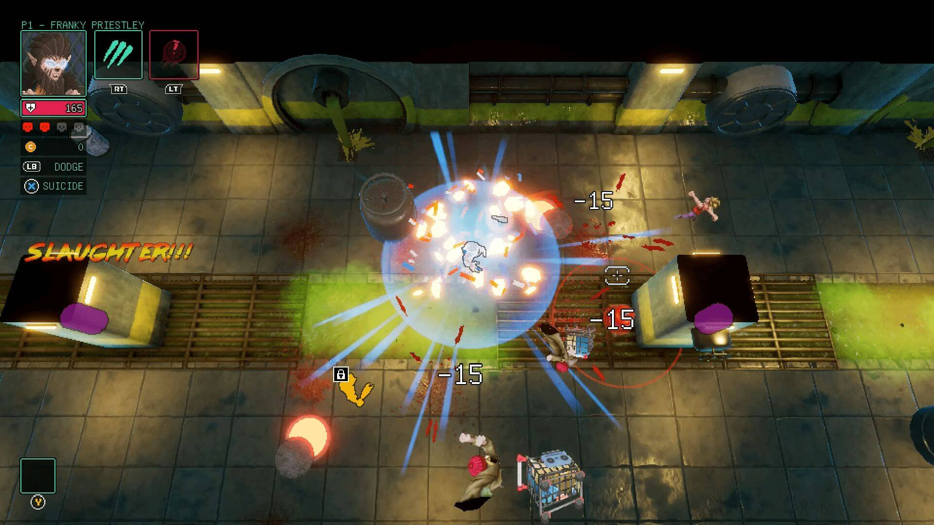 HyperParasite is your next rogue-lite SHMUP adventure
