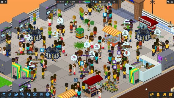 Overcrowd: A Commute 'Em Up - management game set on a metro 3