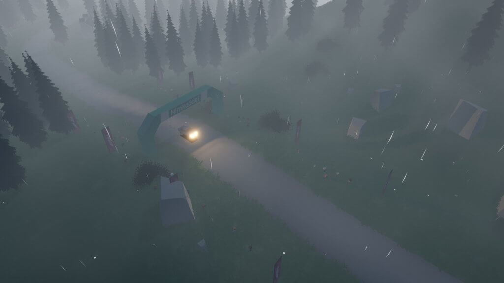 art of rally - a stylized rally experience from the creator of Absolute Drift.